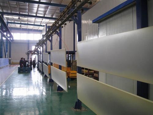 单层管喷涂生产线